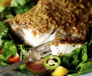 Encrusted Halibut Recipe